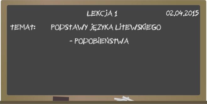 język litewski